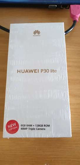 Huawei P30 Lite 2020 Sealed Brand New. BLACK