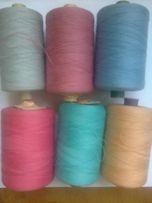 Нитки швейные 100% хлопок цветные №60 экстра Украина