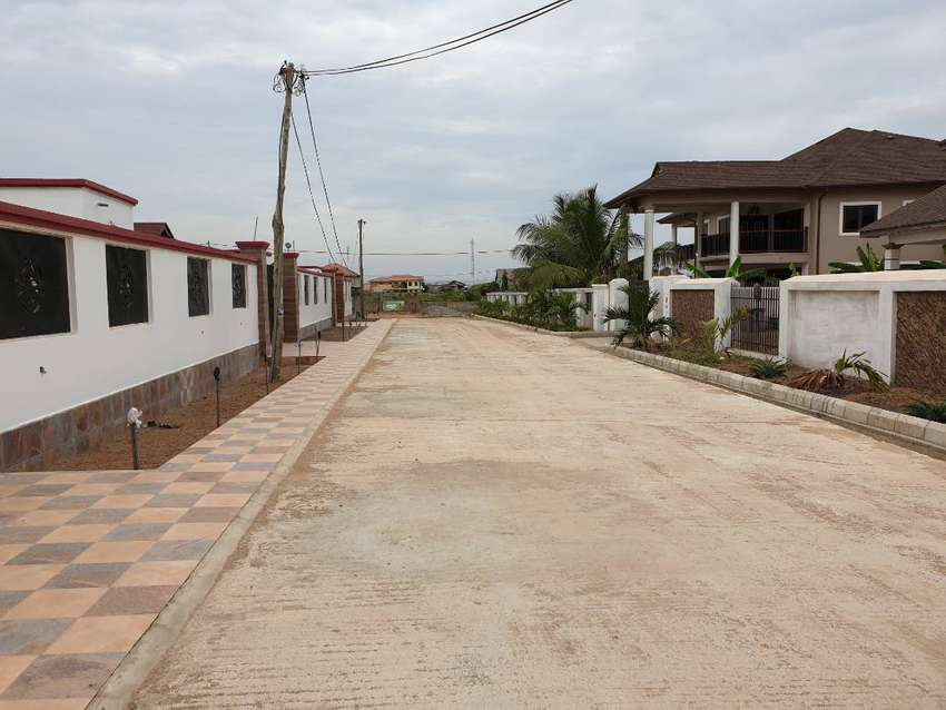 LIMITED RESERVED ESTATE PLOTS FOR SALE @ TEMA C.25 0
