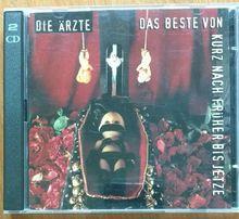 Die Ärzte - Das Beste von kurz nach früher bis jetze 2CD / Punk
