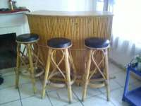 Image of Bar set 3 chairs r400