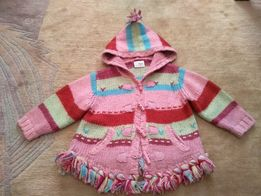 Sweterek Next 12/18 miesiecy roz 86