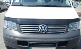 Накладки на решетку Транспортер Т5/ Т6/ кадди (Vw T5/ caddy)