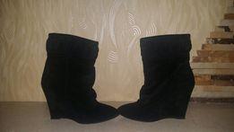 Сапожки h&m, 37 , чорні