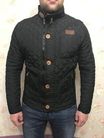 Мужская Стеганая демисезонная куртка размер М Херсон - изображение 1