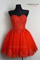 Sukienka wesele SUKIENKOWO Carachel czerwona S