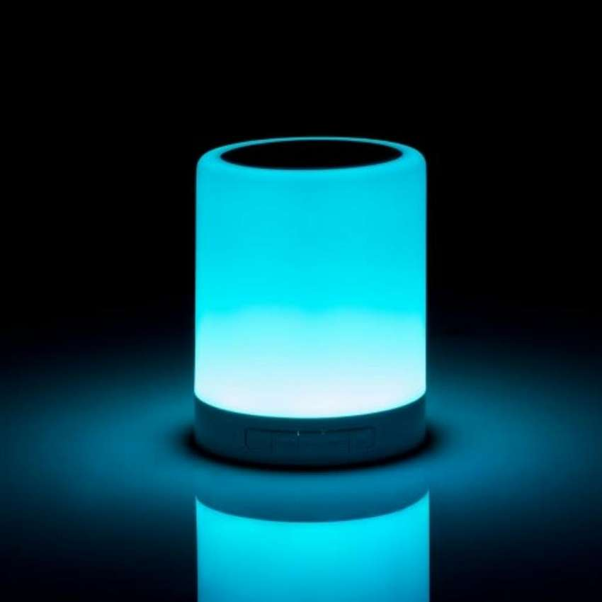 Loom Wireless Speaker With Touch Lamp 0