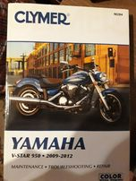 Książka CLYMER Yamaha V-star 950 Midnignt Star 950 od 2009 do 2012