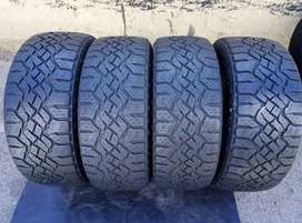 255/55/19 Goodyear wrangler still with sufficient thread life