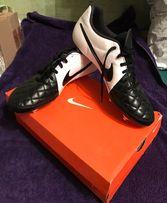 Продам бутсы Nike Tiempo Rio II SG Black/White