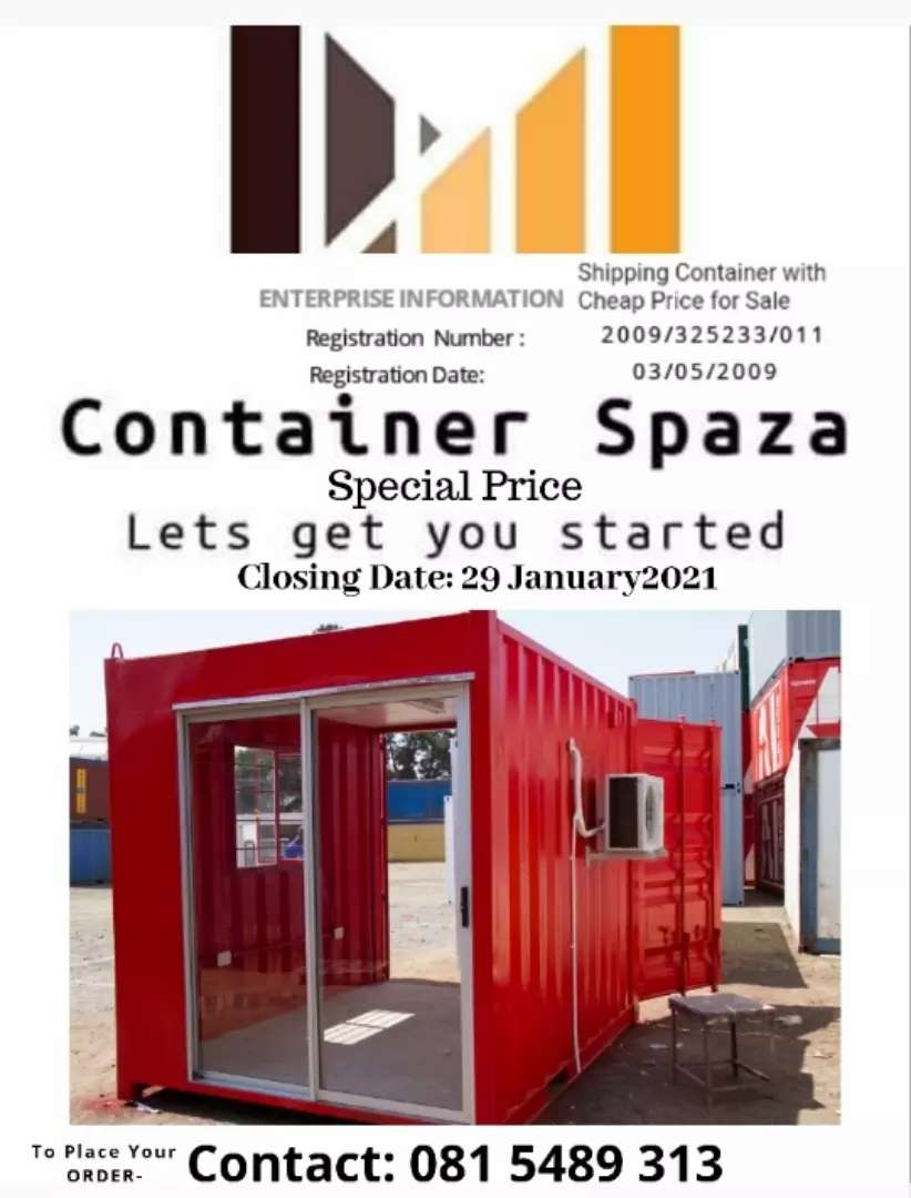Converted Containers 20ft Discounts On Offer - This Month Only.