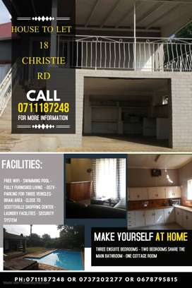 RENTAL ACCOMODATION AVAILABLE