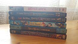 Лицензированные DVD диски (Пираты Карибского моря, Человек-паук)