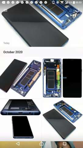 ORIGINAL LCD ASSEMBLY FOR SAMSUNG NOTE 9 / SUPPLY AND FIT