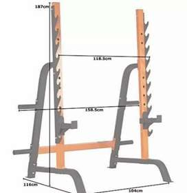 Squat racks specials. All our frames are heavy duty.