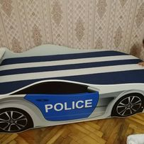 Кровать машина,машинка,Мерседес,БМВ,полиция+ДОСТАВКА!