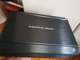 Lightning audio monoblock model L-1250 amp and 2.0 Farad Cap