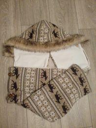 Шапка-шарф на флисе Waynor из Норвегии