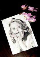 Портрет по фото-отличный подарок.Карандаш и в стиле поп арт.
