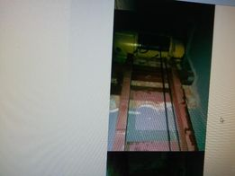 Лебедка со станиной и платформой