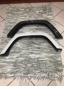 Mudguards for jeep or bakkie