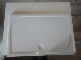 Душевые поддоны GRONIX® 120х80 см из литого камня.
