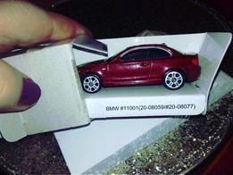 коллекционная игрушка моделька bmw maisto free wheels новая бмв вишня