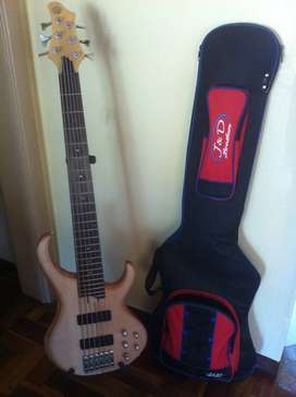 Ibanez BTB 556 Bass Guitar 6 string
