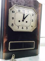 Часы с боем Янтарь