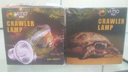 Лампа ультрафиолет с обогревом для черепах, ящериц.Доставка НП