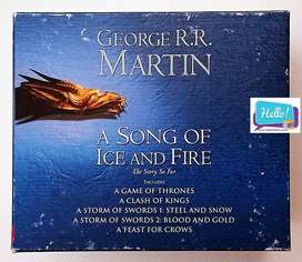 George R.R. Martin A Song of Ice and Fire The Story So Far