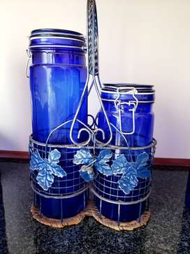 Beautiful Blue glassware available
