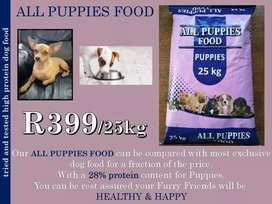 All dogs high protein puppy food