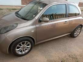 Nissan micra car in good condition. I'm selling it for R45 000