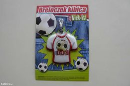 Piłkarski breloczek kibica Just Kick-it! NOWY!Duża ilość!