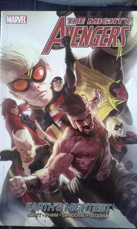 The Mighty Avengers comic book