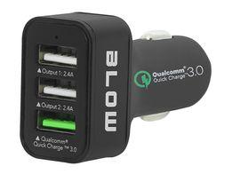 Ładowarka samochodowa z gn. 3x USB Qualcomm 3.0 SZYBIE Ładowanie PRO