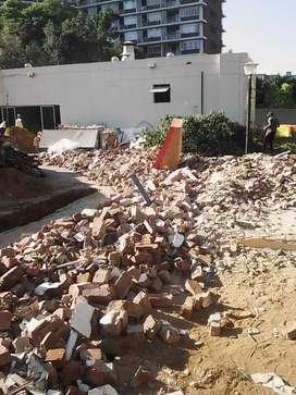 Rubble removal and garden refuse removal