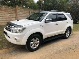 2011 Toyota Fortuner 3.0D4D 2x4 Manual