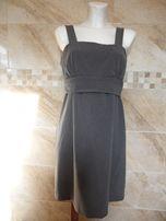 Elegancka spódnica na szelkach. Rozmiar M