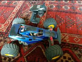 RC car, batteries and charger
