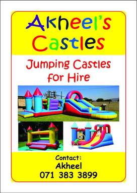 Jumping castles & Water Slides