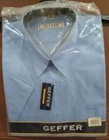 Koszula męska GEFFER, krótki rękaw roz. 41