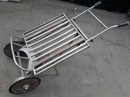 ТЕЛЕЖКА раскладная двухколёсная из нержавеющей стали