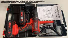 Unlimited Power Cordless Drill