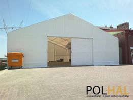 Hala Namiotowa, Namiot Magazynowy 10.0m x 20.0m wysokość ściany 4.0m