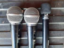 Shure Mics And Stands For sale