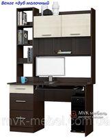 Компьютерный стол Школьник-6 с надставкой