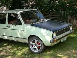 vw golf old dach