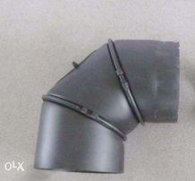 kolanko kominkowe czarne średnicy 200 mm